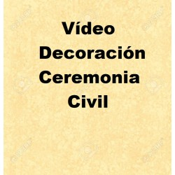 Vídeo Decoración Ceremonia...