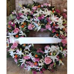 Corona para condolencias FR4